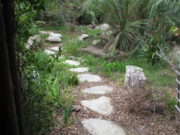 Urbanite pathway.
